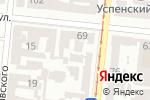 Схема проезда до компании Star Travel в Одессе