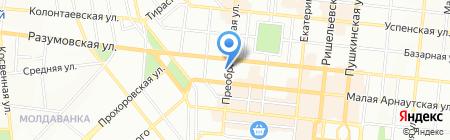 Швейная техника на карте Одессы