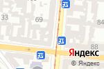 Схема проезда до компании Asta в Одессе