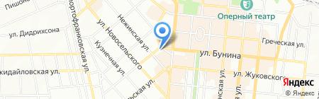 Холідей клуб на карте Одессы