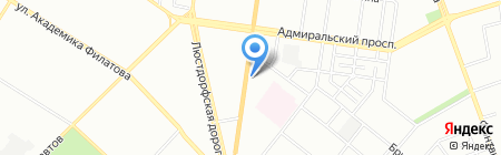 ВелоТрофи на карте Одессы