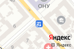 Схема проезда до компании Чебурек Str`eat в Одессе