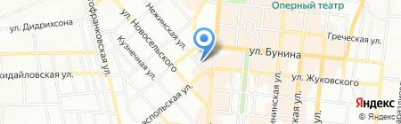 Саттва на карте Одессы