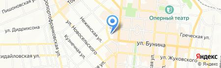 Экстремал на карте Одессы