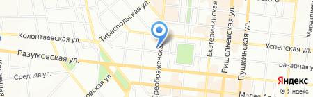 Соната на карте Одессы