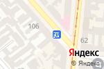 Схема проезда до компании Monamur в Одессе