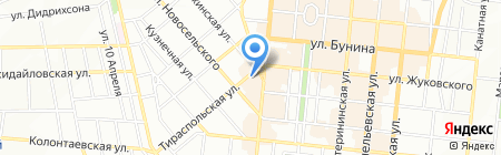 Континенталь II на карте Одессы