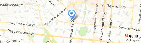 Глобал Марин Сервис на карте Одессы