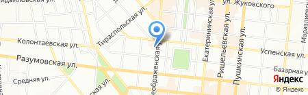 Наша косметика на карте Одессы