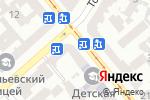 Схема проезда до компании Цветы на Софиевской в Одессе