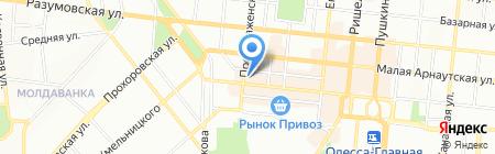 Акомарин Одесса на карте Одессы