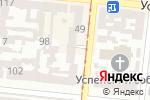 Схема проезда до компании Лама в Одессе