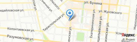 Новые Книги на карте Одессы