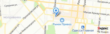Доброго дня на карте Одессы