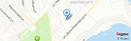 Общежитие на карте Одессы