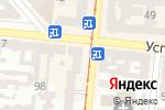 Схема проезда до компании Домус в Одессе