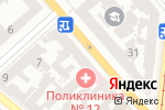 Схема проезда до компании Точка зрения в Одессе