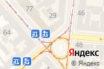 Схема проезда до компании Банкомат, УкрСиббанк, ПАО в Одессе