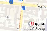Схема проезда до компании Леон в Одессе