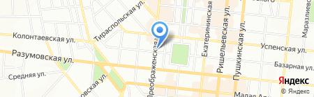 Медсервис-Юг на карте Одессы