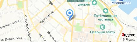 Вкусняшка на карте Одессы