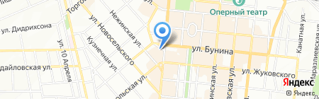 Вилково-тур на карте Одессы