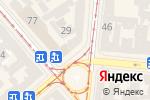 Схема проезда до компании Мясоед в Одессе