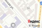 Схема проезда до компании Advanced в Одессе
