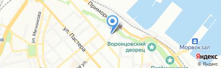 Delf-Tour на карте Одессы