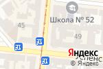 Схема проезда до компании АТМоСфера в Одессе
