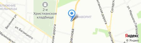 Алекс на карте Одессы