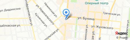 Perfetto на карте Одессы