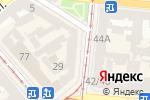Схема проезда до компании Кодак в Одессе