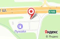 Схема проезда до компании АЗС ЛУКОЙЛ в Мяглово