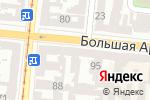 Схема проезда до компании Меблі М в Одессе