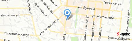 Одеський коровай на карте Одессы