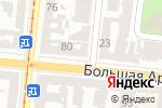 Схема проезда до компании Gsm world в Одессе