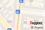 Схема проезда до компании Люксоптика в Одессе