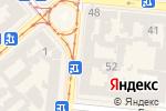 Схема проезда до компании Южный альянс в Одессе