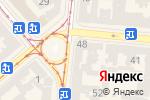 Схема проезда до компании Kodak-Флеш в Одессе