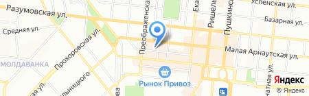 Женская студия танца Кристины Якубовской на карте Одессы