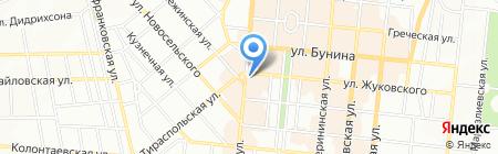 Детская хореографическая школа на карте Одессы