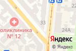 Схема проезда до компании Sailor Jack в Одессе