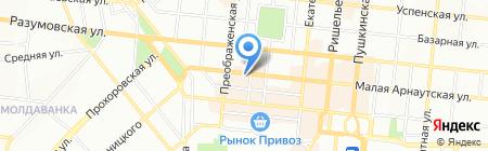 Печки да лавочки на карте Одессы