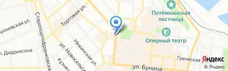 Шаур Man №1 на карте Одессы