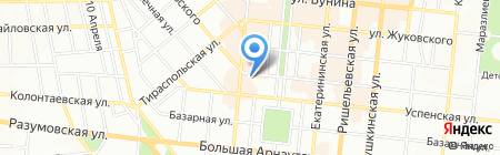 Одесская общеобразовательная школа №52 I-III ступеней на карте Одессы