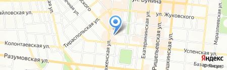 Атланта на карте Одессы