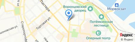 Іллічівське на карте Одессы
