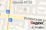 Схема проезда до компании Клуб настольного тенниса в Одессе