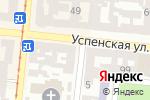 Схема проезда до компании Mershal в Одессе